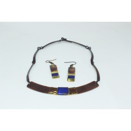 "SET COLLAR + AROS ""CENTRO""..."